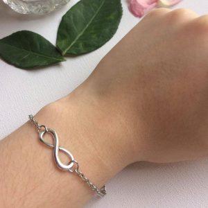 bracelet infini argent