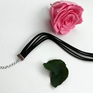 choker noir multiple
